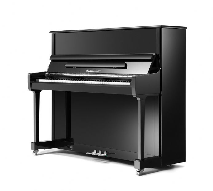 Ritmuller RS122 Traditional Upright Piano Black NEW